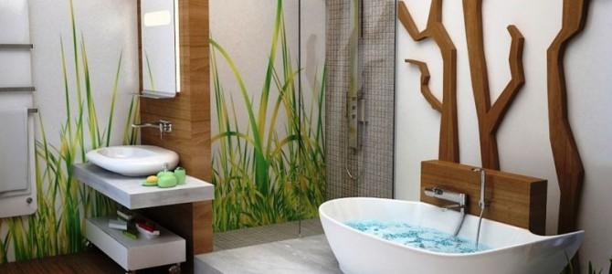 Ламинат в банята