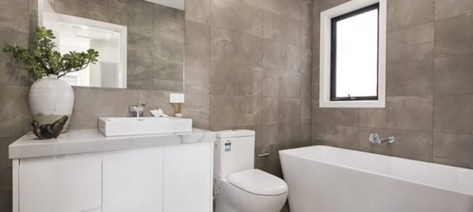Решения за баня с минимален бюджет