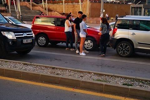 Автомобилни катастрофи в София