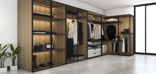 Удобството да имаш вграден гардероб